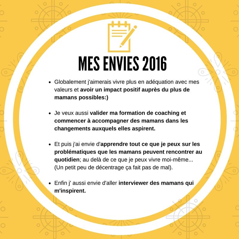 envies - motivation 2016