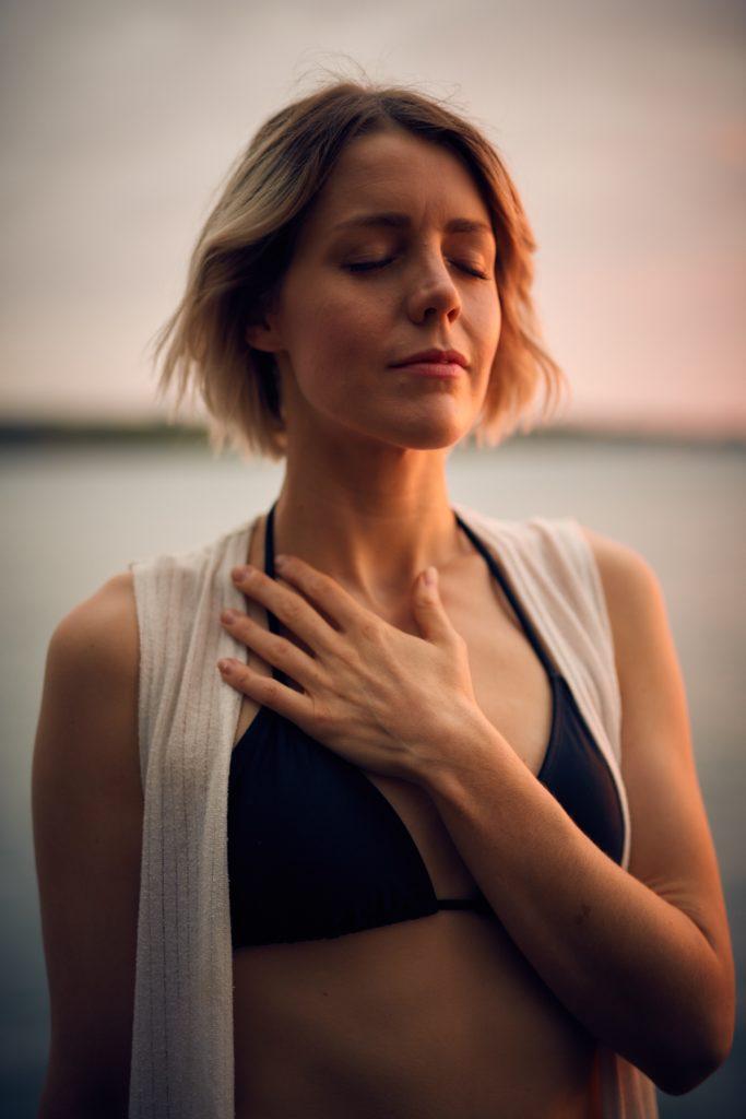 Respiration abdominale ou ventrale